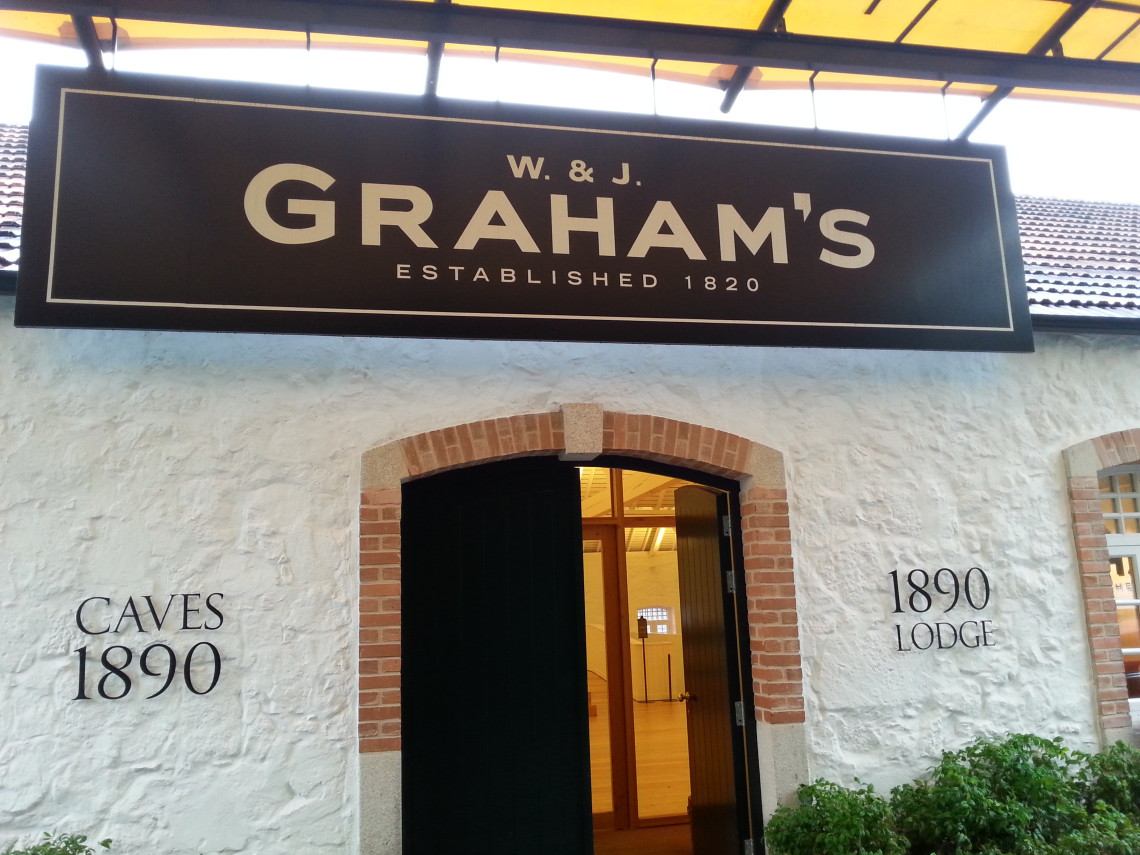 Wejście do Lodge Grahams