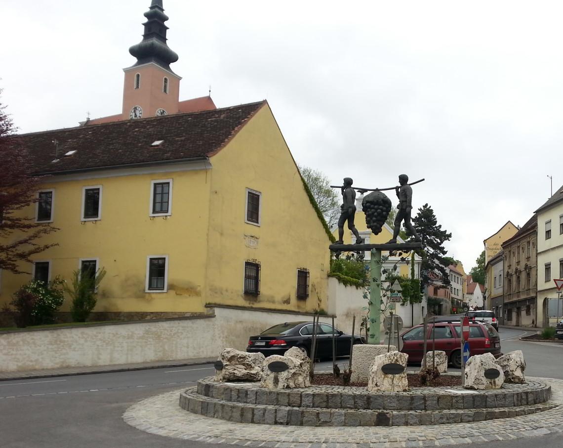 Rondo w Poysdorfie
