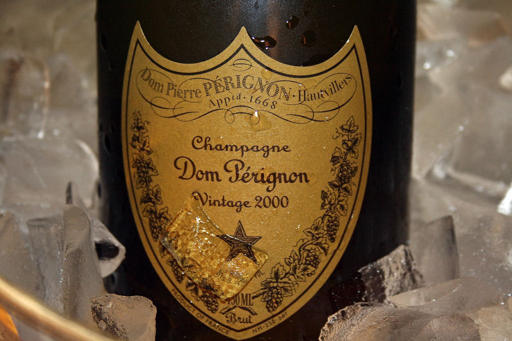 Butelka Dom Perignon