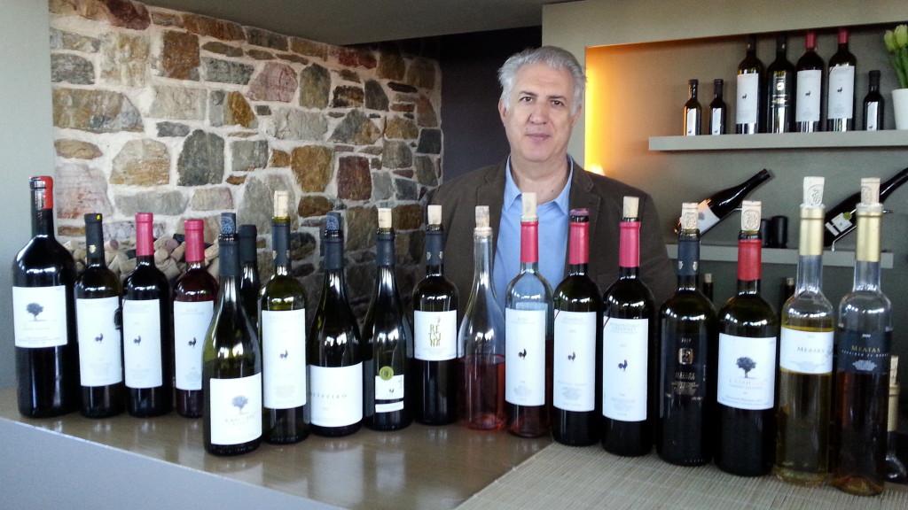 Vasilis Papagiannakos i jego wina