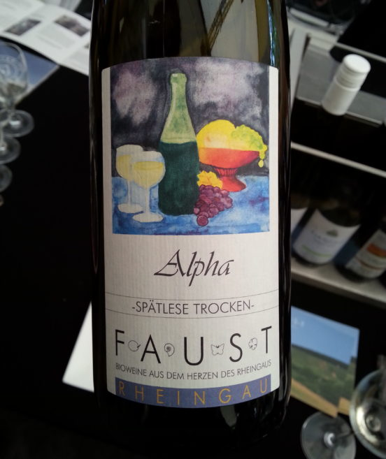 Riesling Alfa Winnica Faust