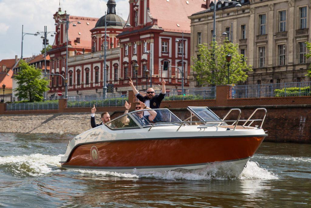 Będzie też możliwość podziwiania Wrocławia podczas rejsu po Odrze!