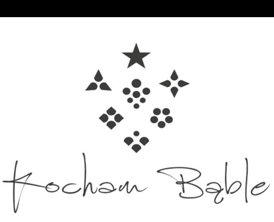 Kocham bąble logo