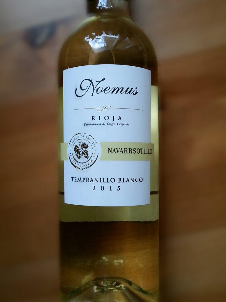Noemus Rioja Navarrsotillo Tempranillo Blanco